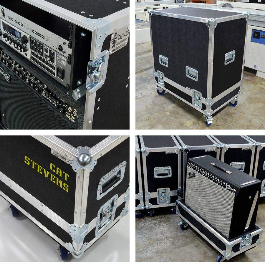 Amplifier cases by Caseman