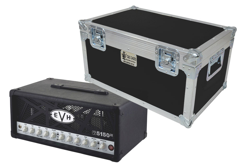 Amplifier head cases by C and C Cases.