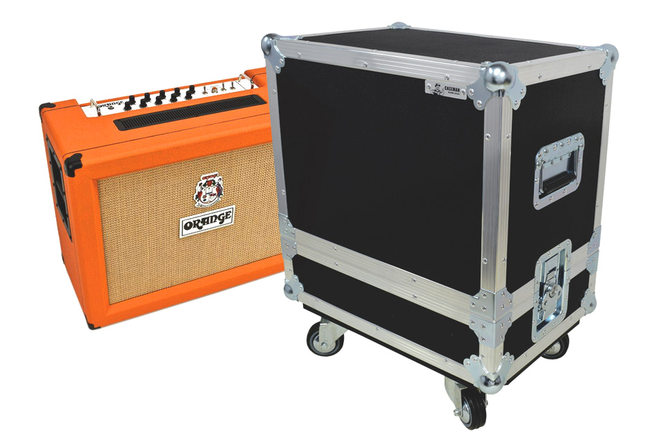 Orange amplifiers flight case