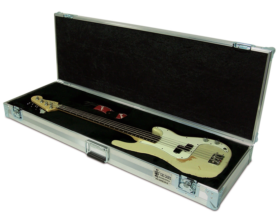 Fender Precision custom made bass case by C and C Cases