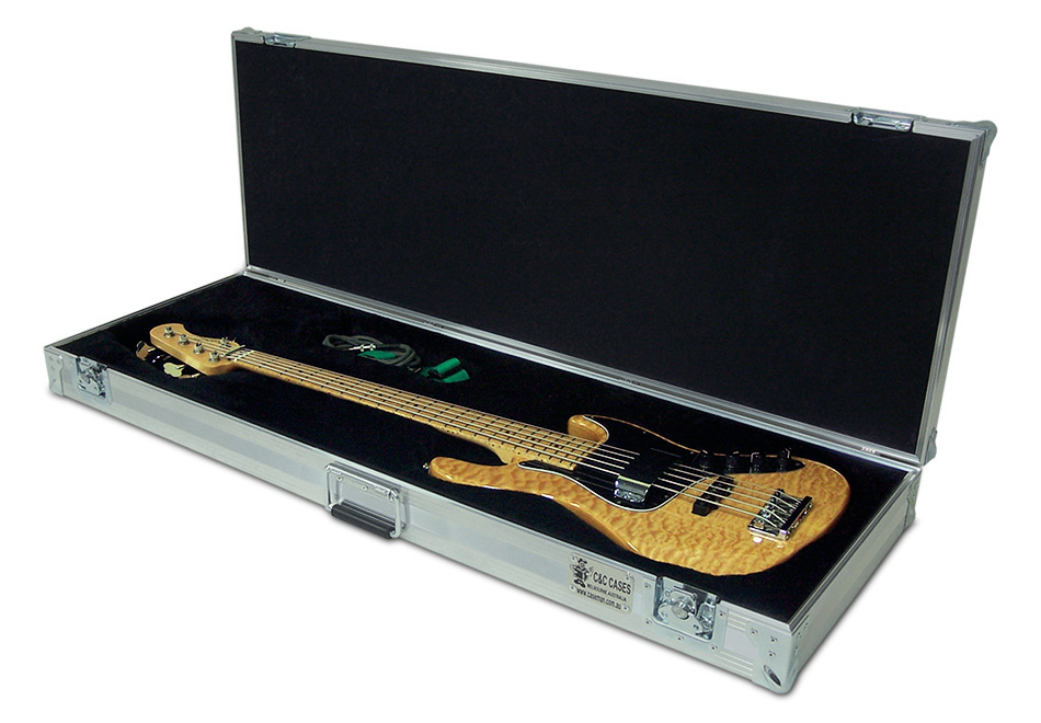 Sadowsky Jazz custom made bass case by C and C Cases