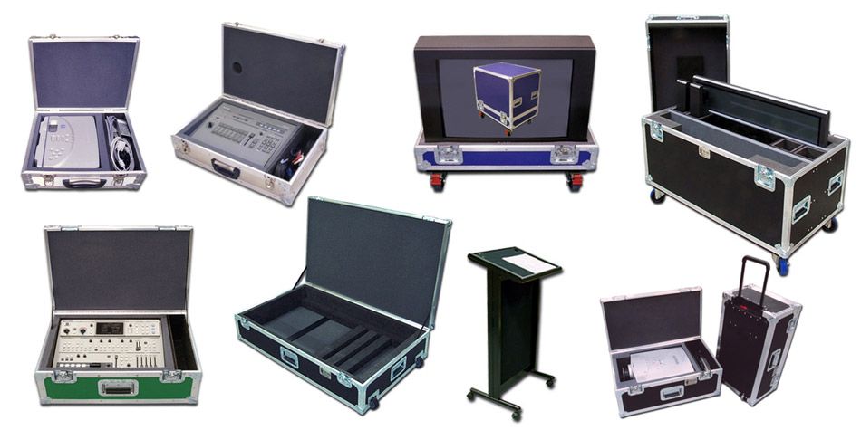 Audio Visual cases by C and C Cases