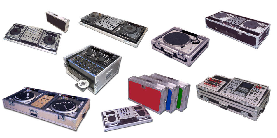 DJ cases by C and C Cases