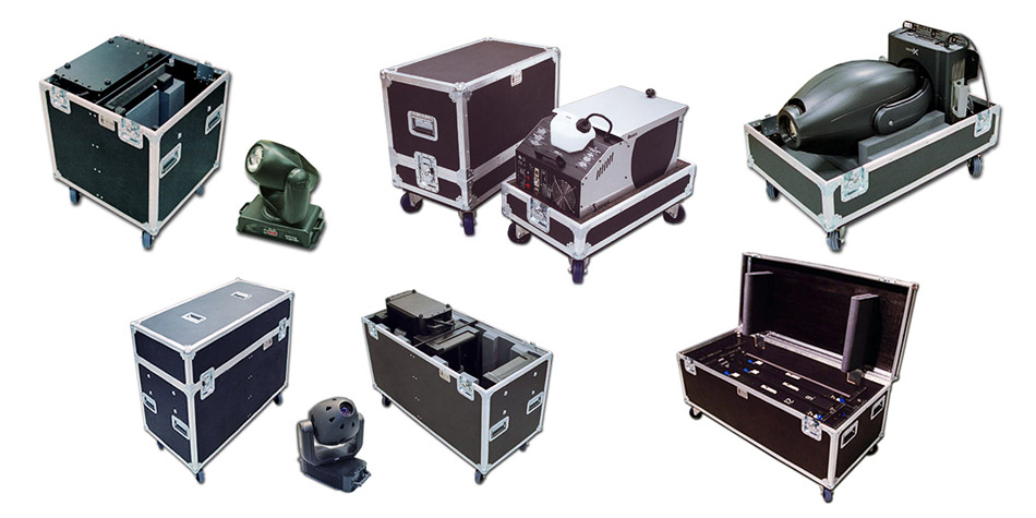 Concert Lighting cases by C and C Cases
