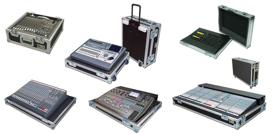 Mixer Console cases by C and C Cases
