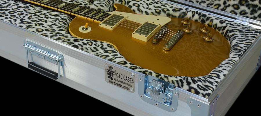 Custom tailored guitar cases by C and C Cases Melbourne, Australia