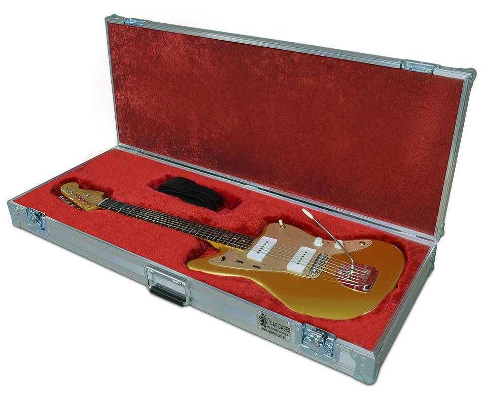 fender jazzmaster guitar case by c c cases. Black Bedroom Furniture Sets. Home Design Ideas